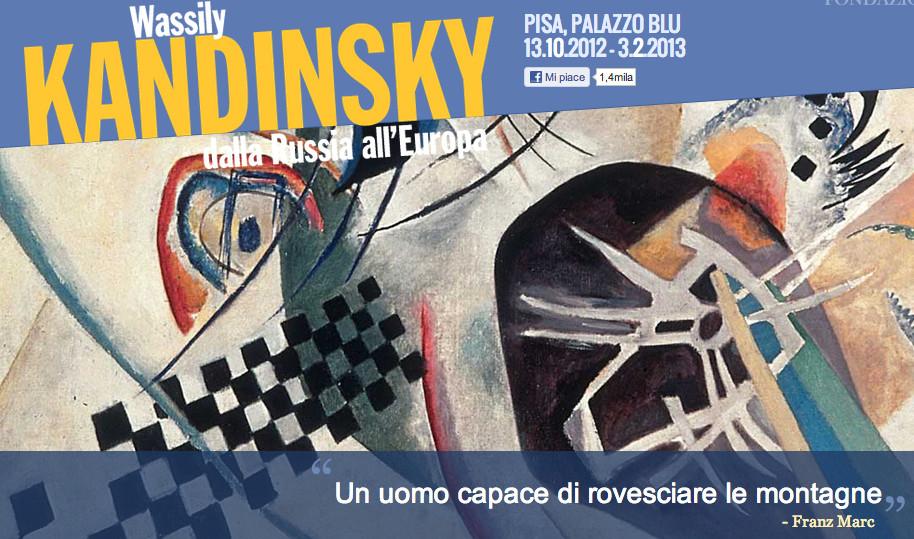 Kandinskij   |   Un uomo capace di rovesciare le montagne