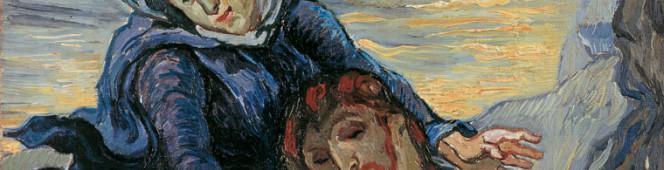 Mostre  |  Bellezza divina, tra Van Gogh, Chagall e Fontana.